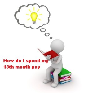 How do I spend my 13th month pay?